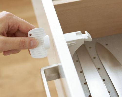 BabyDan Mágneses zár fiókokhoz és szekrényekhez