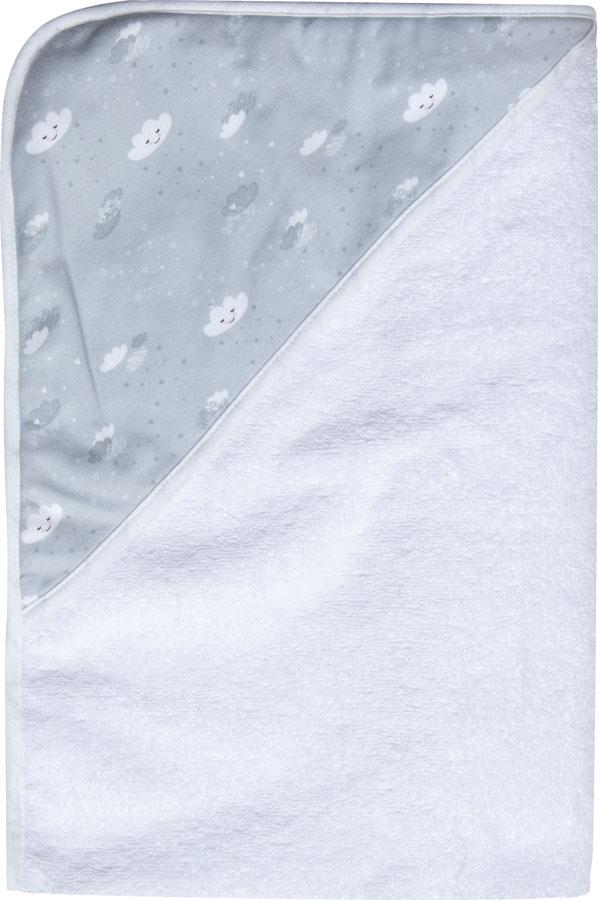 LUMA Törölköző kapucnival Lovely Sky 85x75 cm