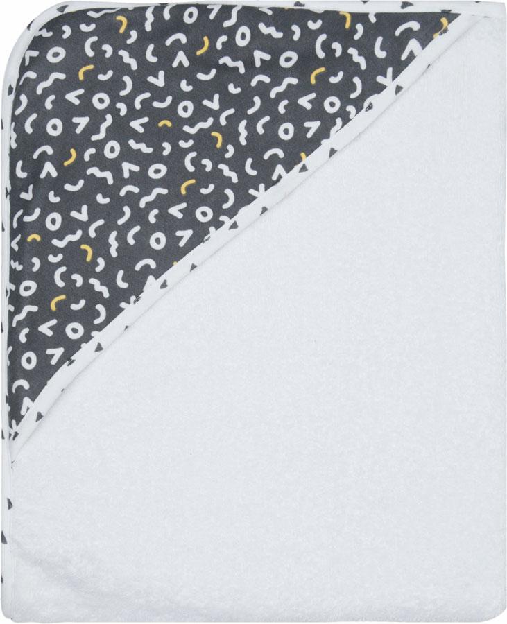 LUMA Törölköző kapucnival Memphis Grey 85x75 cm
