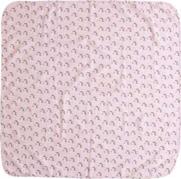 Luma Bambusz muszlin pelenka 110 x 110 cm Racoon Pink