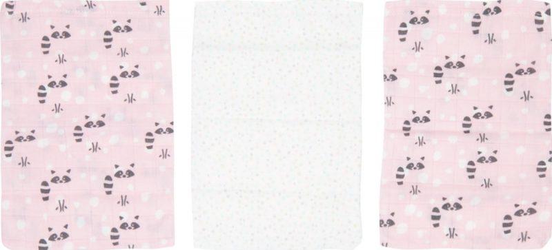 Luma Bambusz fürdetőkesztyű Racoon Pink 3 db