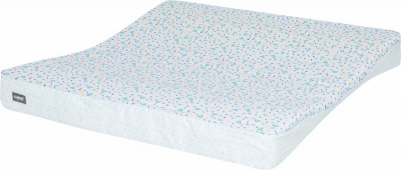 LUMA XL pelenkázó lap Shapes Mint
