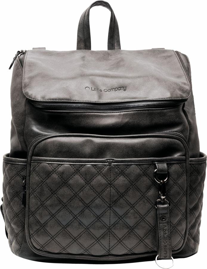 Pelenkázó hátizsák Lisbon Quilted Black