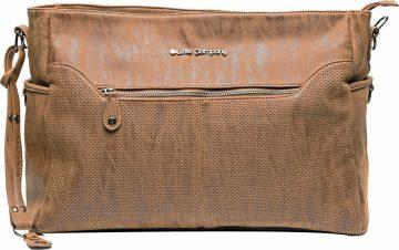Pelenkázó táska Copenhagen Perfo cognac