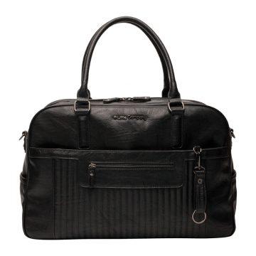 Pelenkázó táska Lima Quilted Black tűzdelt