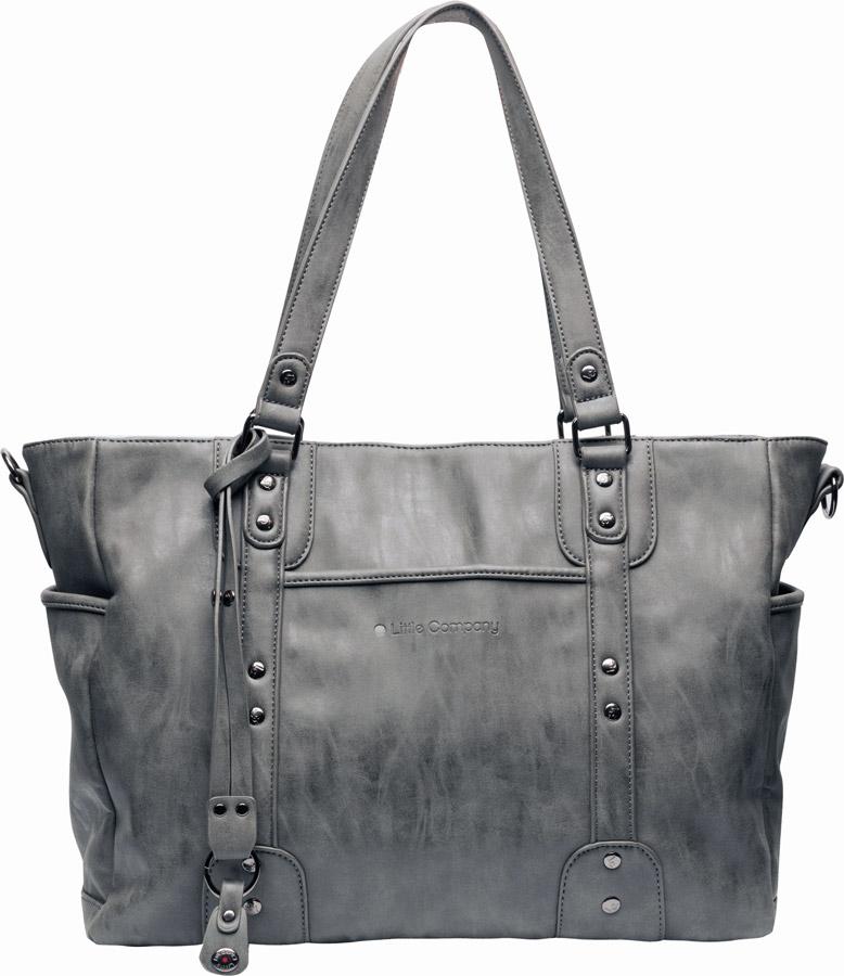 Pelenkázó táska Paris Studs antracite