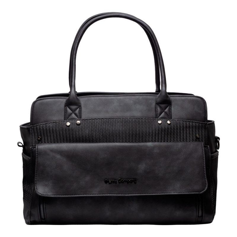Pelenkázó táska Sevilla knit Black