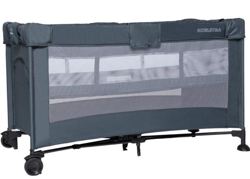 Koelstra T5 utazóágy állítható magasságú fekvőfelülettel Grey