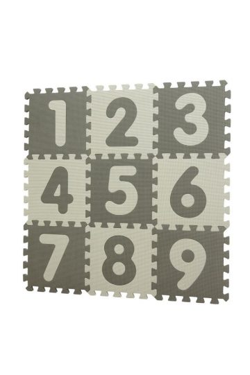 Baby Dan Puzzle habszivacs játszószőnyeg Grey