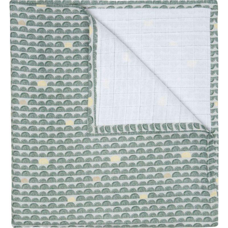 Luma Bambusz muszlin pelenka 110x110 cm Luma Bow Deco
